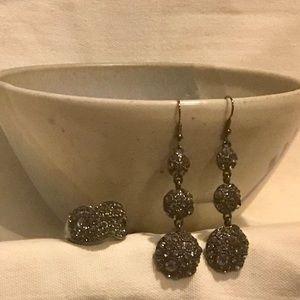 Earring & ring set